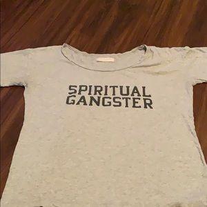 Spiritual Gangster women's tee